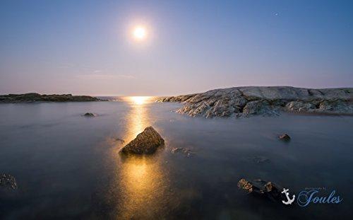 Photograph ~ Full Moon ~ Ocean Drive ~ Newport, Rhode Island Newport Drive