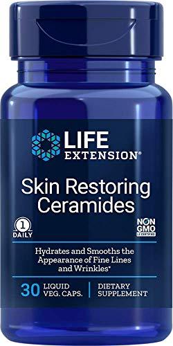 Life Extension Skin Restoring Ceramides, 30 Liquid Vegetarian Capsules