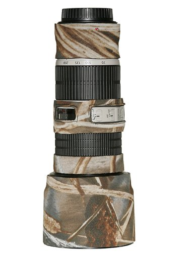 LensCoat LC702004M4 Canon 70-200IS f/4 Lens Cover (Realtree Max4 HD)