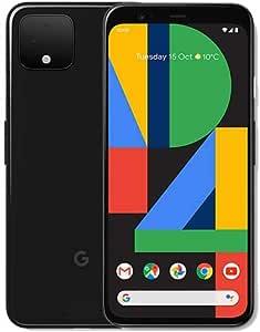 Google Pixel 4 G020M 64GB 5.7 inch Android (GSM Only, No CDMA) Factory Unlocked 4G/LTE Smartphone - International Version (Just Black) (Renewed)