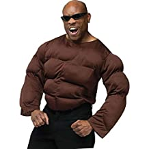 Morris Costumes Halloween Muscle chest african american