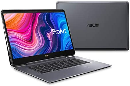 "ASUS ProArtwork Studiobook One Mobile Workstation Laptop, 15.6"" 4K UHD Pantone Display, Intel Core i9-9980HK, Nvidia Quadro RTX 6000, 64GB DDR4, 1TB PCIe SSD, Windows 10 Pro, Star Grey, W590G6T-PS99"