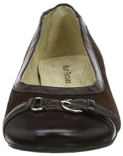 brown Ballerines Allegra Grace Marron Femme Hush Puppies A4qaxY