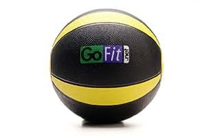 GoFit GF-MB10 10-pound Medicine Ball with Training Manual
