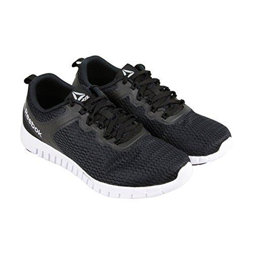Reebok Men's Zquick Lite Running Shoe, Black/Coal/White, 9.5 M US