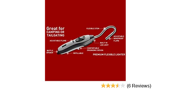 Amazon.com: Bernzomatic Flexible Lighter With LED Light Bottle Opener and Refill Bottle: Kitchen & Dining