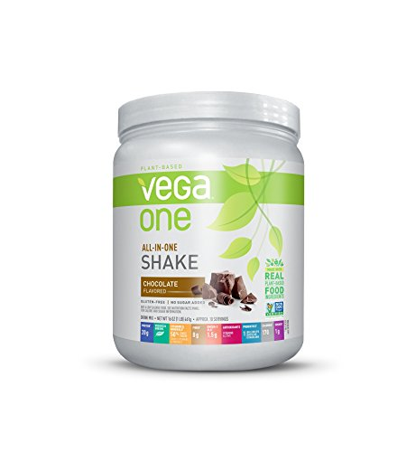 Vega One All-In-One Plant Based Protein Powder, Chocolate, 1 lb, 10 Servings