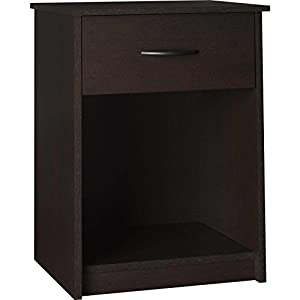 Mainstays Nightstand Side End Table, Multiple Finishes (Cinnamon Cherry)