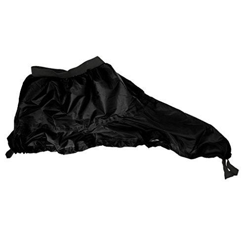 Generic NEW Outdoor Kayak Spray Skirt Boat Canoe Surf Sprayskirt Cover Adjustable - Black, One (Kayak Skirt)