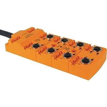 ifm ebc036 sensor wiring block end 1 number of pins 8 end 1 rh amazon com 110 Block Wiring 110 Block Diagram