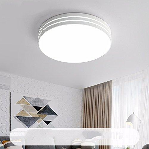 TIANLIANG04 Iluminación De Techo Habitación Redonda Led ...