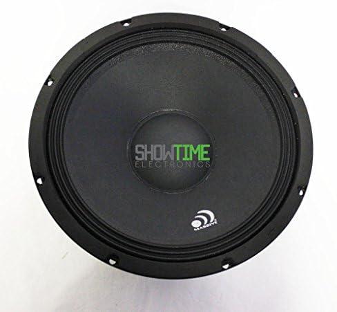 Massive Audio M10 10? 8-Ohm 300 Watt Mid-Range/Midbass Car Pro Audio Speaker