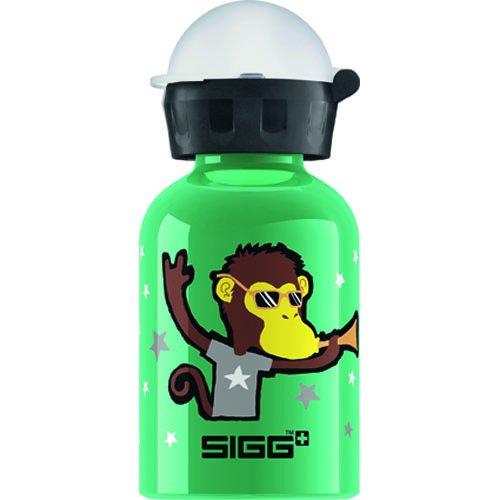 (Sigg Water Bottle - Go Team - Monkey Elephant - 0.3 Liters)