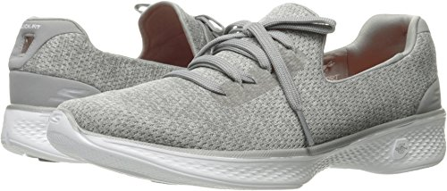 Skechers Performance Women's Go Walk 4 All Day Walking Shoe, Gray, 8 M US
