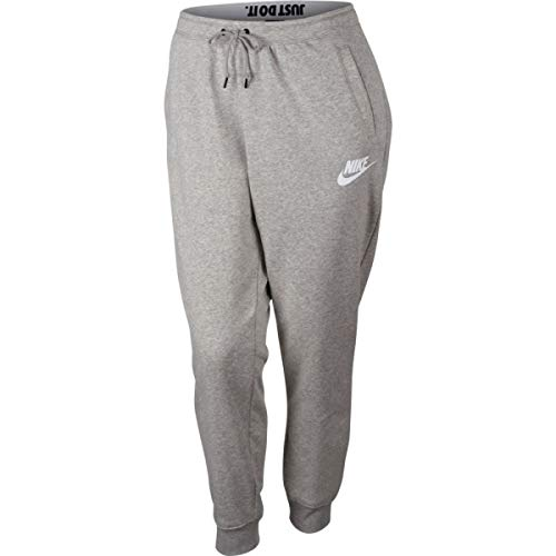 Amazon Com Nike Sportswear Rally Women S Pants Plus Size Grey