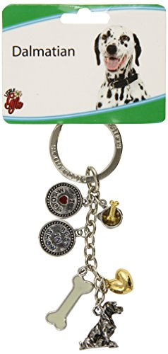 LittleGifts Dalmatian V3 Keychain - Dalmatian Keychain