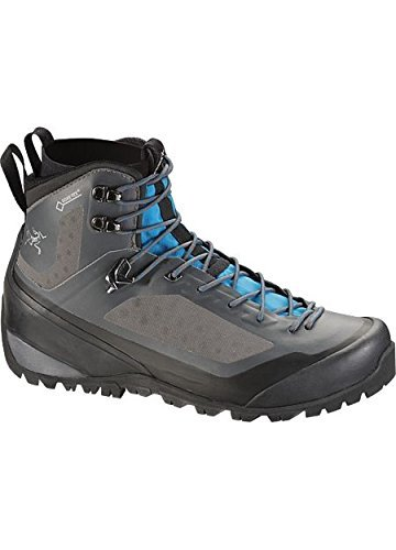 ARCTERYX Bora2 Mid Hiking Boot - Womens Boots 9 Light Graphite/Big Surf