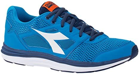 Diadora Zapatillas Running Zapatillas Jogging Hombre Heron Sky-Blue/White Zapatos, Royal, 41: Amazon.es: Deportes y aire libre