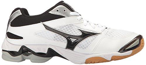 Bolt Shoe Black Women's White Multi 6 Wave Mizuno Volleyball FXEPqwT8qn