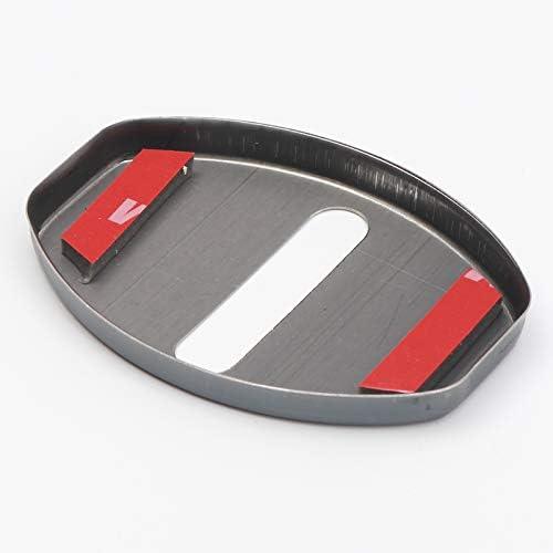 Accesorios para autom/óviles CMHZJ 4Pcs Cubiertas para cerraduras de Puertas de autom/óviles para Toyota RAV4 2019 2020 Acero Inoxidable