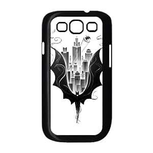 Batman City Scape Samsung Galaxy S3 9300 Cell Phone Case Black Delicate gift JIS_282871