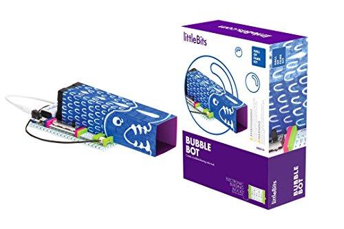 littleBits Hall of Fame Bubble Bot Starter Kit, Purple
