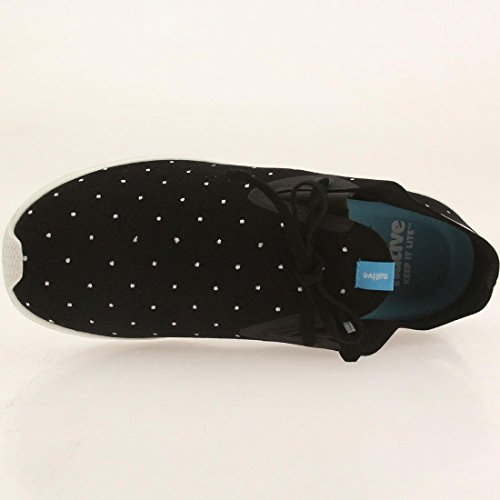 Apollo Native Fashion Shell Dot Unisex Black Sneaker Moc White Jiffy Polka aaqnwUFB5