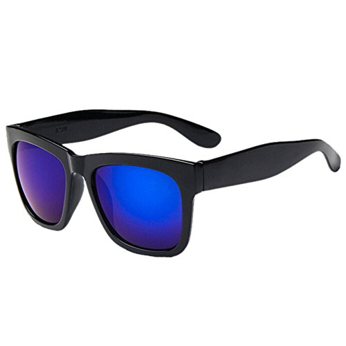 Sanwood Frame soleil Lunette noir Lens taille noir de Blue Black unique Femme UUgwC4q