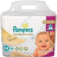Fralda Pampers Premium Care Jumbo - M 84 Unidades