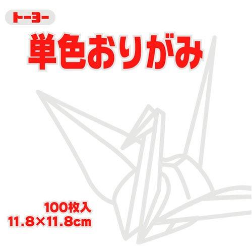Toyo Origami Paper Single Color - White - 11.8cm, 100 Sheets ()