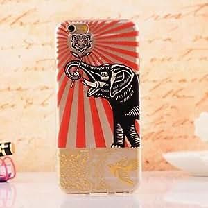 Elegant Design Pattern TPU Soft Cover for iPhone 6 Plus