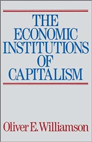 Amazon The Economic Institutions Of Capitalism 9780684863740