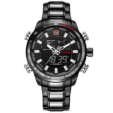 HWCOO Relojes Hombre NiñosReloj Deportivo Reloj Militar Reloj de Vestir Reloj de Moda Reloj Casual Reloj