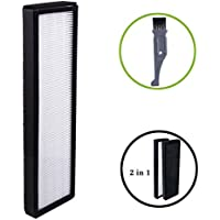 I-clean Filter B For GermGuardian FLT4825, True HEPA Filter Replacement Fit for AC4825 AC4300 AC4800 4900 Series Air Purifiers (With a Free Cleaning Brush)