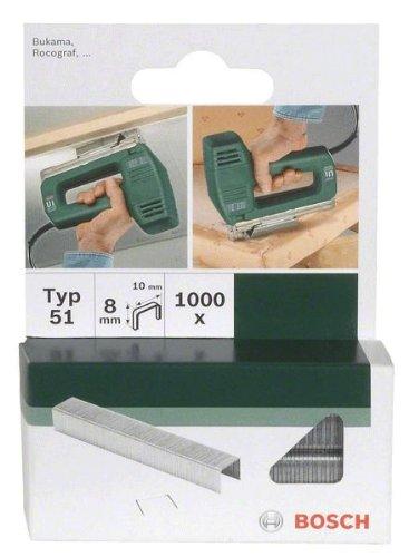 Bosch 2609255822 Agrafe 11, 4 x 0, 74 x 12 mm Type 53 Lot de 1000