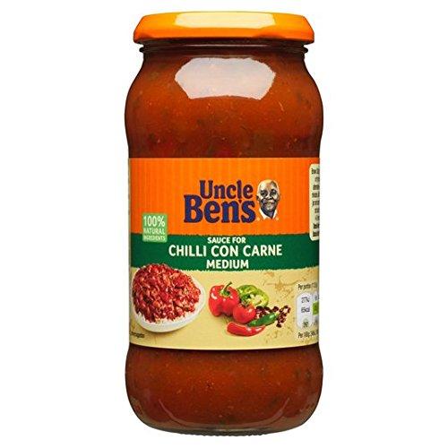 Salsa 450g Uncle Ben chili con carne Medio: Amazon.es: Alimentación y bebidas