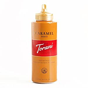Torani Caramel Sauce 16.5 oz each - Gourmet Christmas Gift for the Holidays (2 Items per Order, Not per Case)