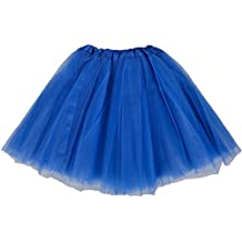 TINYHI Womens Classic Elastic 3-layered Tulle Tutu Tutu Skirt Skirt