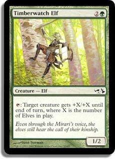 Magic: the Gathering - Timberwatch Elf - Duel Decks: Elves vs Goblins