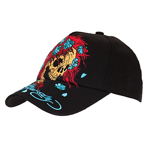 Ed Hardy - Skull Wig Youth Adjustable Baseball Cap