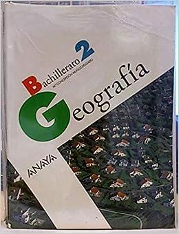 Geografía, 2 Bachillerato: Amazon.es: Muñoz-Delgado y Mérida, María Concepción: Libros