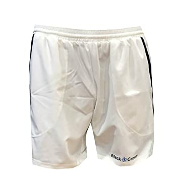 Black Crown Pantalón Padel Hombre Willy 17-Blanco-M: Amazon ...