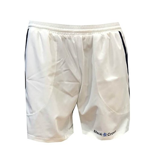 Black Crown Pantalón Padel Hombre Willy 17-Blanco-M: Amazon.es: Deportes y aire libre