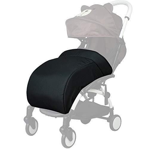 Saco para cochecito/cubierta del pie/protección para silla de paseo compatible con Yoyo Baby yoya cochecito (negro): Amazon.es: Bebé
