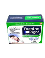 Breathe Right BR Clear Nasal Strips 72 Ct
