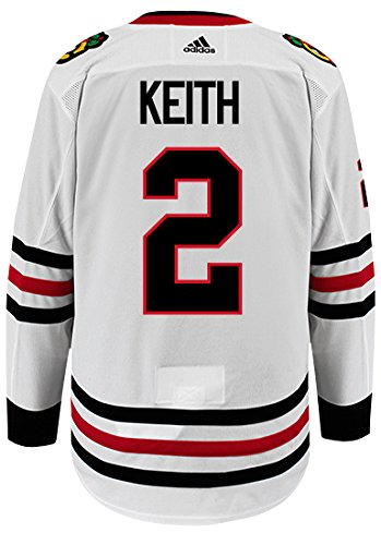 badc31fc3ef Image Unavailable. Image not available for. Color  adidas Duncan Keith  Chicago Blackhawks Authentic ...