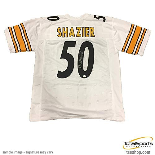Ryan Shazier Autographed Signed White #50 Away Custom Jersey - Certified Authentic