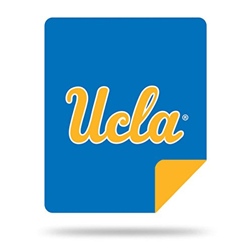Ucla Bruins Ncaa Pattern - Officially Licensed NCAA UCLA Bruins Denali Silver Knit Throw Blanket, Blue, 60
