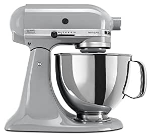 Kitchen Aid 5KSM150 Stand Mixer Metallic Chrome - 220 Volts Only! Will Not Work In The USA