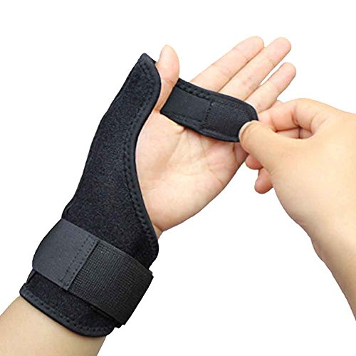 Splint Removable (ZTL Thumb Stabilizer Support Brace with Removable Metal Splint Thumb Protection Wrist Brace for Carpal Tunnel Pain Relief Injury Recovery)